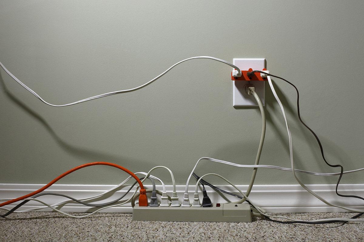 たこ足配線の安全な使い方